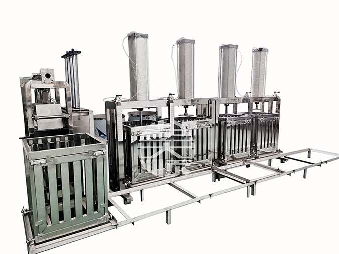 自动豆干机生产省力,客户用了都说好