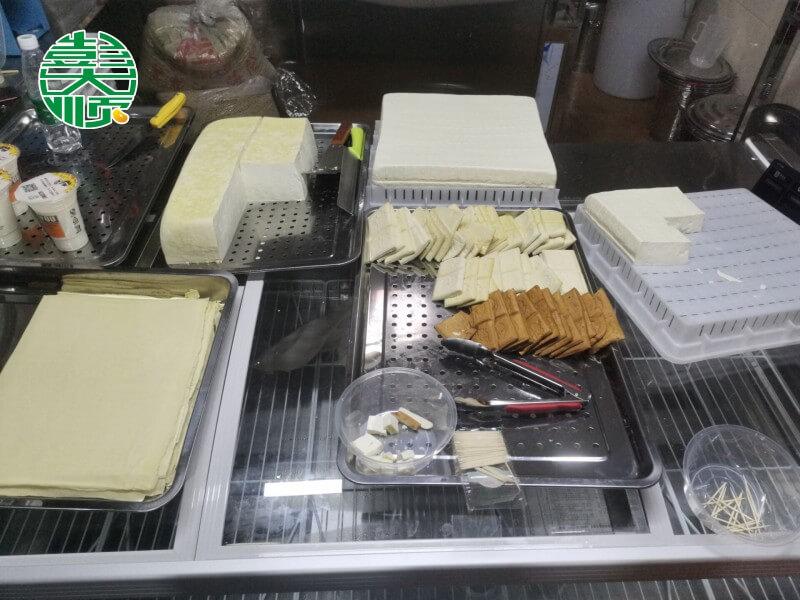 伊河路店豆制品展示