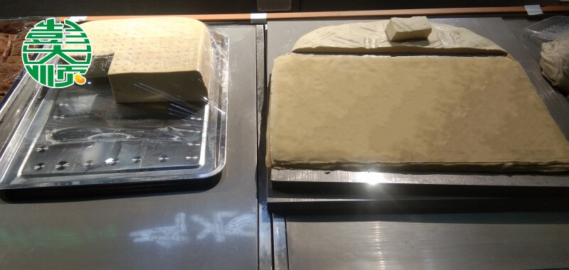 肖老板做的豆制品展示
