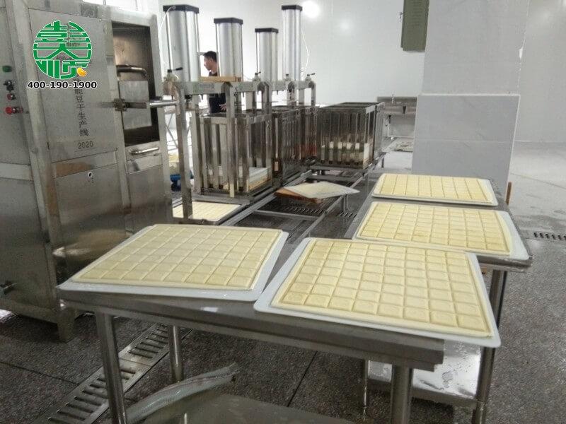福建沙县客户豆制品厂里做的乐天堂fun88手机投注干