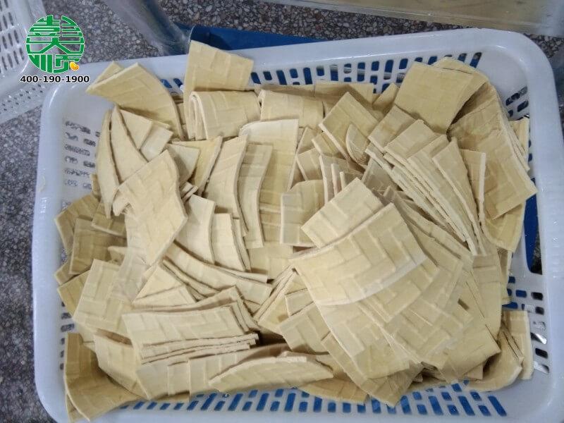 福建沙县客户豆制品厂里做的乐天堂fun88手机投注干成品